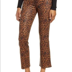 NEW 7 for all Mankind pants animal print 29